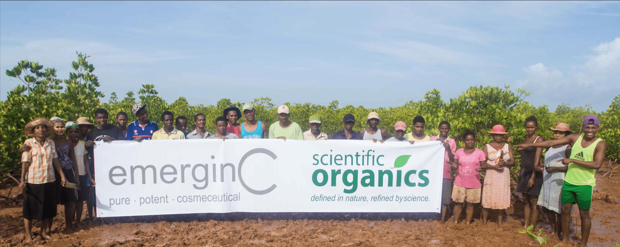 bomen planten voor elk verkocht emerginC product