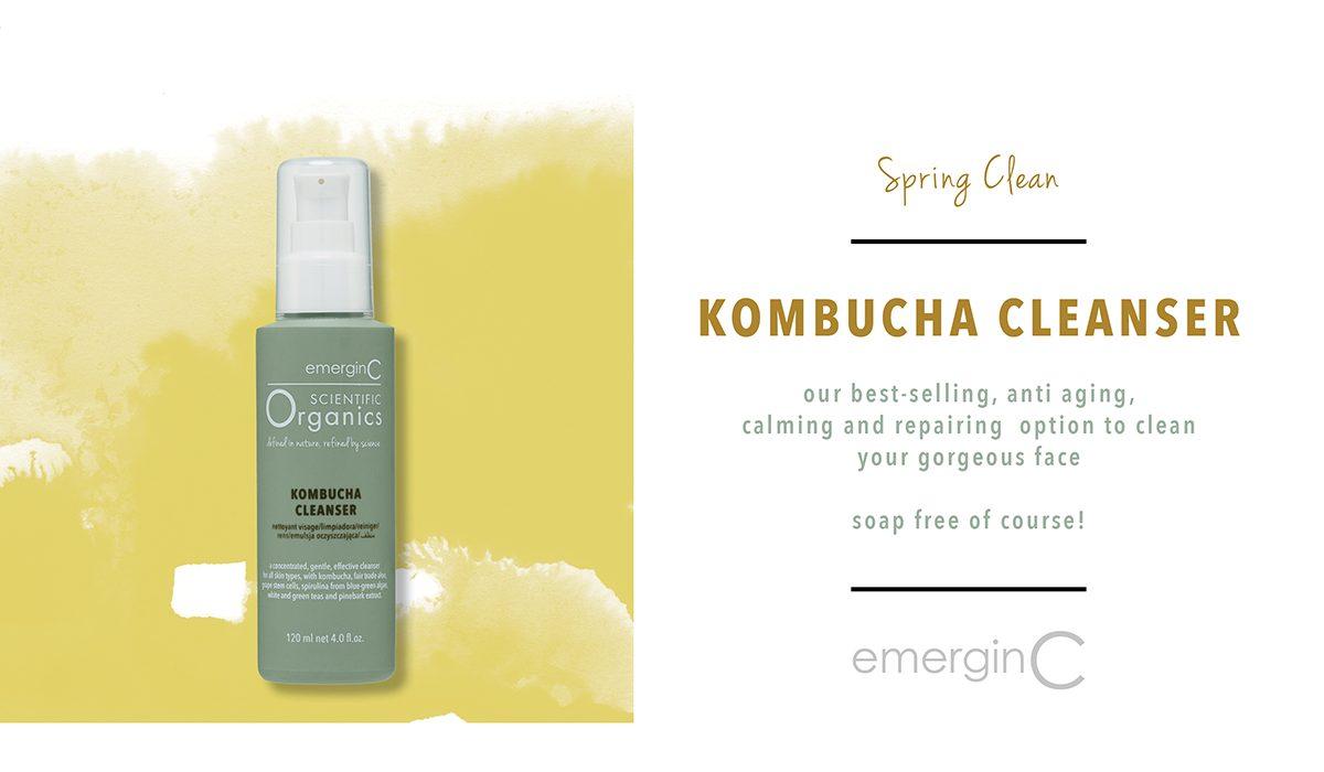 cleanser kombucha emerginc green organic
